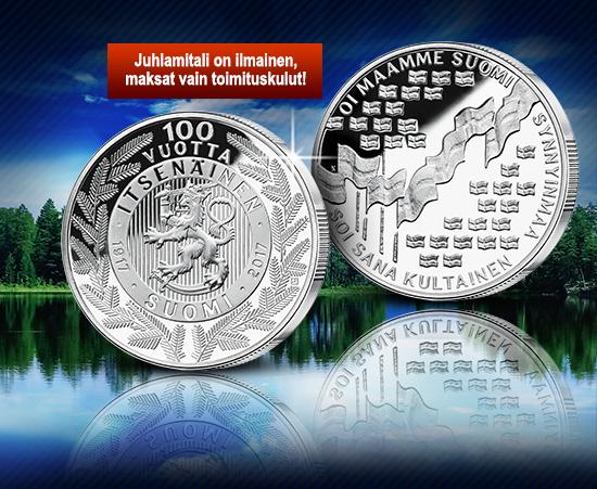 Suomi 100 Vuotta Juhlamitali